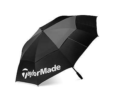 "New For 2016 - TaylorMade Golf Tour Double Canopy 64"" Umbrella - B11106"