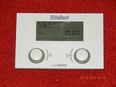 vaillant calormatic vrt 392f funk raumtemperaturregler raumthermostat eur 179 90 picclick de. Black Bedroom Furniture Sets. Home Design Ideas