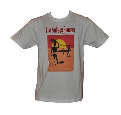 T Shirt The Endless Summer Surf Movie Mens White All Sizes S To 3Xl Free Post