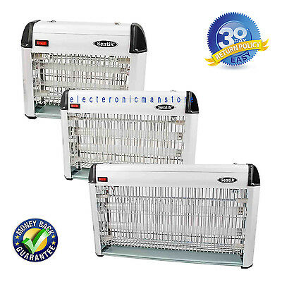12W  2 x 6 w ultra violet tubes Electric Insect Fly Killer Bug Zapper Hanging