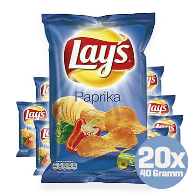 Lay's Chips Paprika 20 x 40g aus Holland
