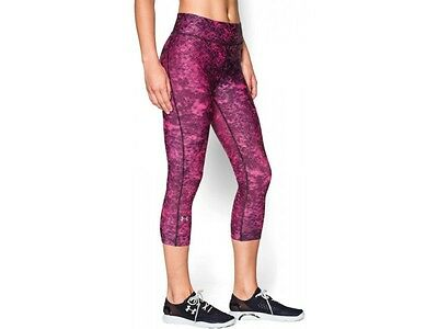 NWT Under Armour Women's HeatGear Print Leggings XS to S MSRP44.99