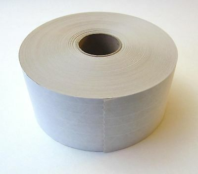 """Gum Reinforced Tape 3""""x450' Made In Usa 10 Rolls White"""