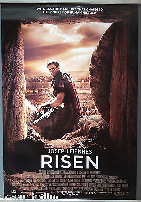Cinema Poster: RISEN 2016 (One Sheet) Joseph Fiennes Tom Felton Peter Firth