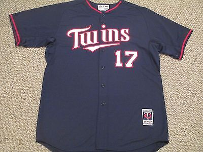 Kendrys Morales 2014 Twins Game Jersey batting practice size 50 #17