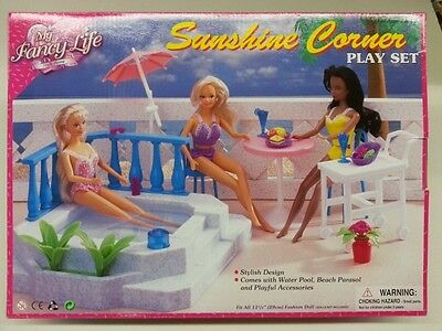 Gloria,Barbie Size Doll House Furniture/(9879)Sunshine Corner