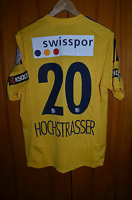 Luzern Switzerland Match Worn Football Shirt Jersey Adidas #20 Hochstrasser