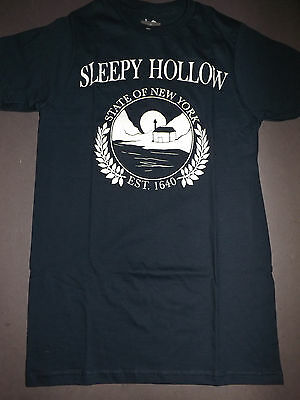 SLEEPY HOLLOW State of New York Seal T-Shirt *NEW tv show Small S XL