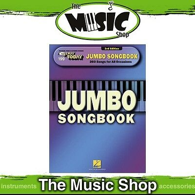 New EZ Play #199 Jumbo Songbook 3rd Edition Piano Music Book - Easy Play E-Z