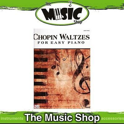 New Chopin Waltzes Music Book for Easy Piano