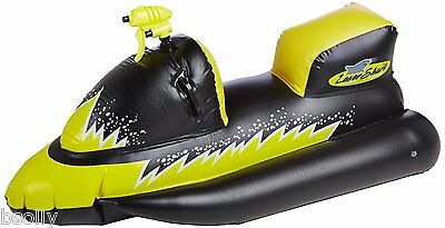 Lasershark Wet-Ski Squirter Ride On Inflatable Water Beach Lake Toy