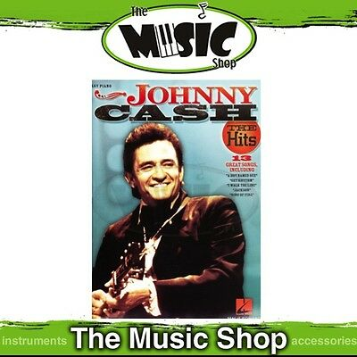 New Johnny Cash the Hits Music Book for Easy Piano