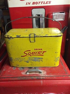 Vintage Squirt A2 Cooler!! Coca Cola 7Up Rare!!!!