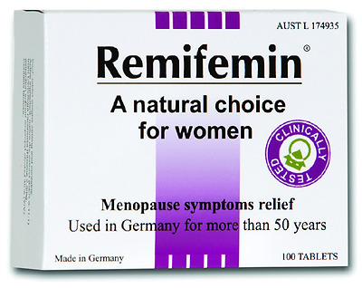 1 x Remifemin Menopause 100 Tablets ::Menopause Symptoms Relief::