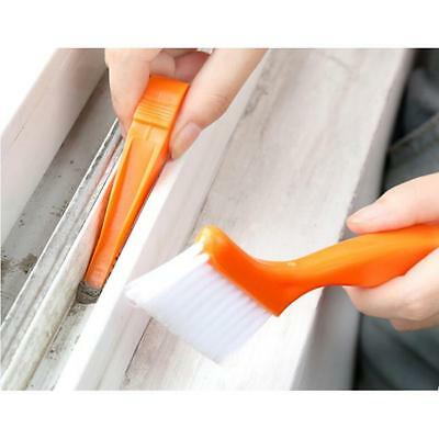 Track Cleaning Brush Specially Design Clean Sliding Door Window Tracks Tool FW