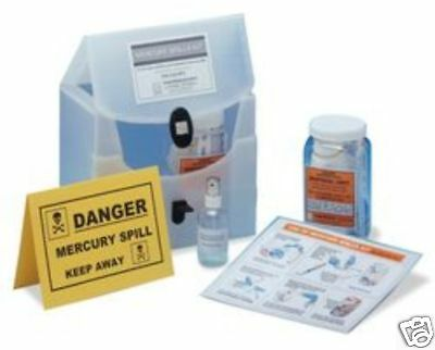 MERCURY SPILL KIT = 2 x Disposal Kits