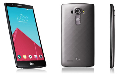 "Unlocked 5.5"" LG G4 H811 32GB 16MP Gray (T-Mobile) 4G LTE Android TELEFONO MOVIL"