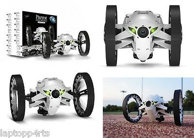 Genuine Parrot MiniDrones Jumping Sumo Robot Toy Camera WiFi Controlled White