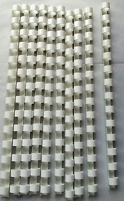 14mm White Binding Combs 14 Ring For Comb Binder A5 10x