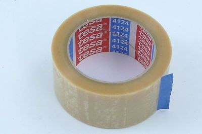 *NEU*1xTESA 4124 Ultrastrong Rolle Klebeband Transparent Packband 66mx50mm Tape