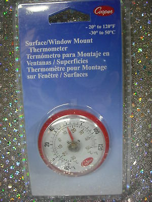 THERMOMETER, COOPER,  -20 to 120F & -30 to 50C