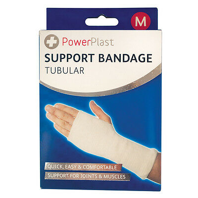 Tubular Support Bandage Arthritis Injury Gym Sleeve Elasticated Brace Pad Wrap