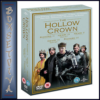 The Hollow Crown - Complete Series 1 & 2 *brand New Dvd Boxset***