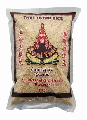 (2,79€/1kg) [ 1kg ] ROYAL THAI Naturreis AAA / Thai Brown Rice (brauner Reis)