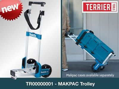 Makita TR00000001 Foldable Makpac Trolley / Sack Truck with Securing Belt (Max L