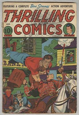 Thrilling Comics #55 August 1946 G/VG