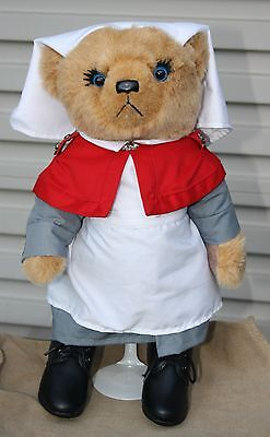 Sister Bernadette Anzac Centenary Nurse Bear - Ww1 Great War Ltd Edition