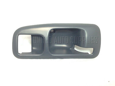 Front Right Inside Door Handle Gray//Grey for 96-00 Honda Civic Coupe Hatchback
