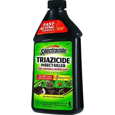 Spectracide Triazicide Concentrate Lawn and Landscape Insect Killer. 32 oz