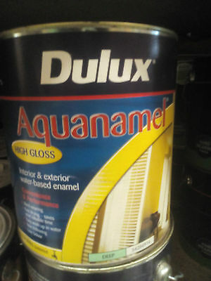 Dulux High Gloss 4L Interior Exterior Pretinted Antique White Usa Can Freight