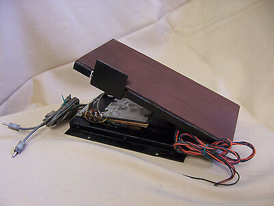ELECTRONIC ORGAN EXPRESSION PEDAL MUSIC MIDI PROJECT hammond exp100f shape