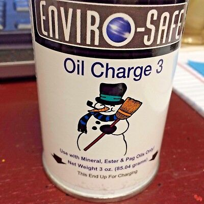 R22, Oil Charge, R-22, 3 OZ. CAN, Refrigerant with Lubricant