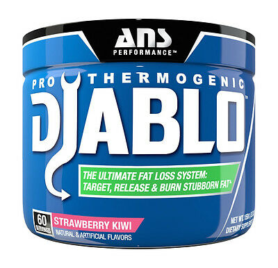 ANS Performance Diablo  Pro-Thermogenic Powder 60 Servings Choose Your Flavor