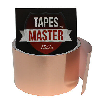 """Copper Foil Tape - 2"""" X 10ft -  EMI Conductive Adhesive / Ship from USA"""