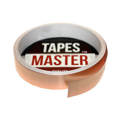 "Copper Foil Tape - 1/2"" X 10ft - EMI Conductive Adhesive / Ship from USA"