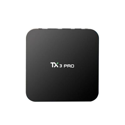 S905X TX3 Pro 8G Smart TV Box Android 6.0 Quad Core Media Player Wifi +Keyboard