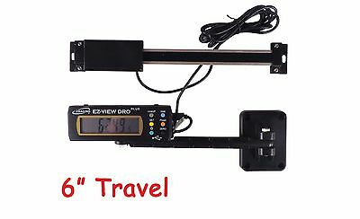"E Z View 6"" 150 mm Digital Readout DRO Preset Articulating Remote Display"