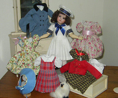 1955 Rosette- Her First Outfits! Plus 2  For Bleuette - Free!