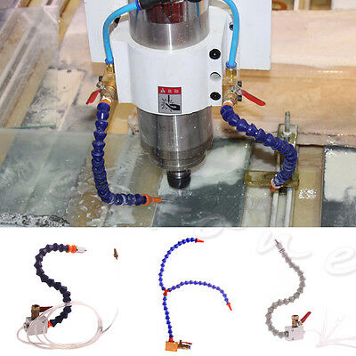 Mist Coolant Lubrication Spray System For CNC Lathe Milling Drill 8mm Air Pipe