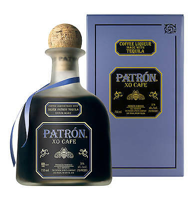 Patron XO Cafe Coffee Liqueur 700ml Gift Boxed