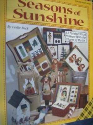 Seasons Of Sunshine Painting Book Children, Quilt-Like Patterns, Vegetables, Ang