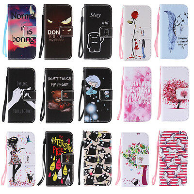 Card Holder Wallet Case for Samsung S5 S4 S3 A3 A5 J7 J5 Phone Stand Flip Cover
