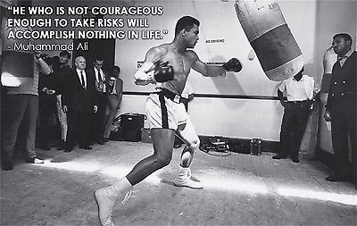 "Muhammad Ali The World's Greatest Boxer Art Print Wall Poster 38""x24""  029"