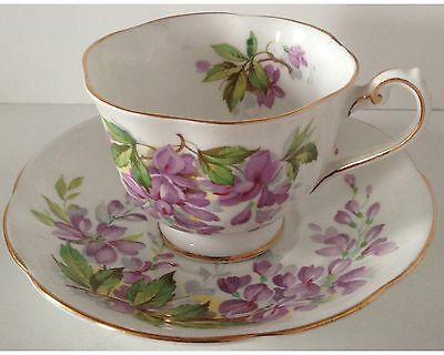 Fancy Royal Standard Wisteria Cup and Saucer