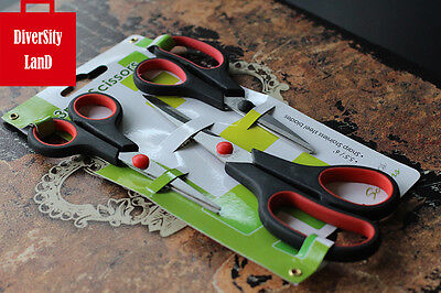 3 Stainless Steel Scissors  Dressmaking Shears Art Tailor Scissors Cutting Tools