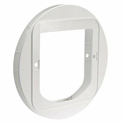Sureflap Cat Flap Mounting Adaptor White Pet Supplies For Use With The Sureflap